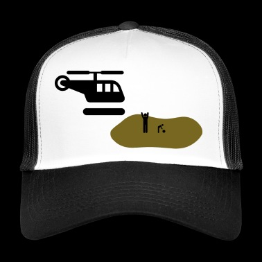 Helicopter parents helicopter helicopter parents - Trucker Cap