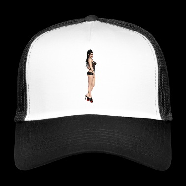 Vamp Sexy naked woman - Trucker Cap