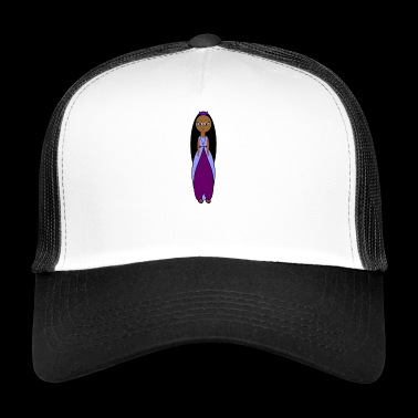 Sally Bollywood Comic Figurine - Gift Idea - Trucker Cap