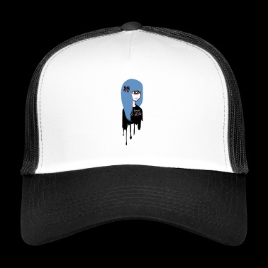 Ei Kawaii, vain Psycho Girl - Trucker Cap