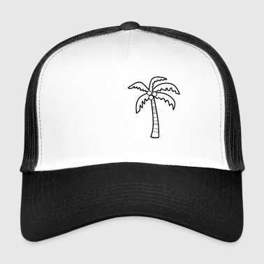 Palm Tree - Trucker Cap