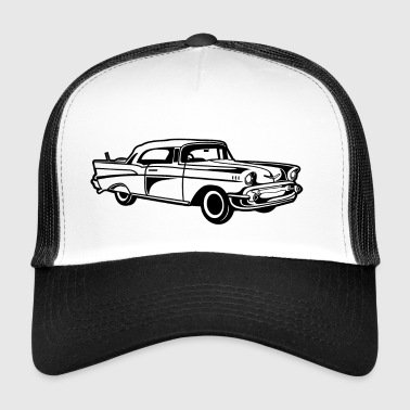 Chevy Bel Air / Oldtimer 01_black - Trucker Cap