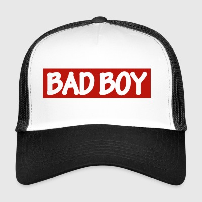 BAD BOY - white / red - Trucker Cap