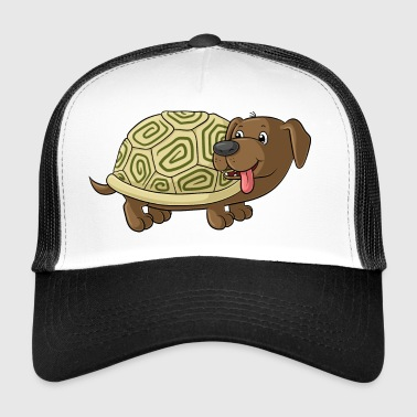 Cute cartoon Dachshund Toad - Trucker Cap