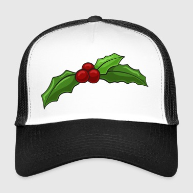 Christmas holly - Trucker Cap