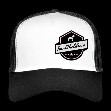 1mal1heldsein Pitbull Staffs helden - Trucker Cap