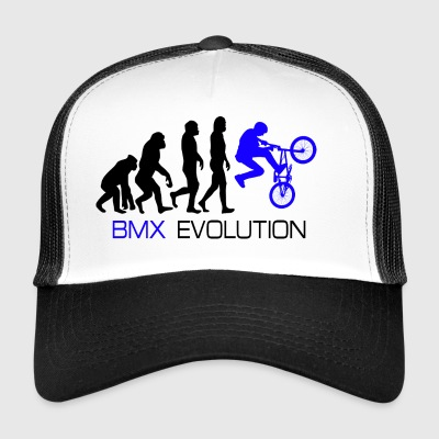 Evolution - BMX Dirt Bike Shirt Gift - Trucker Cap