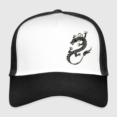 Dragonflight nero - Trucker Cap
