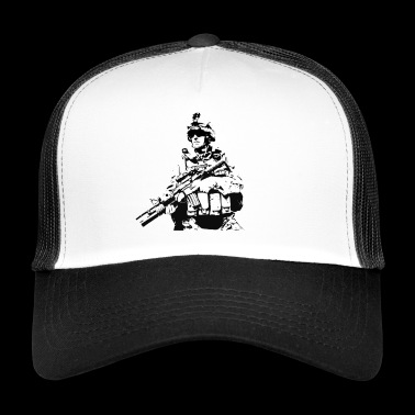 Soldier Military - Trucker Cap