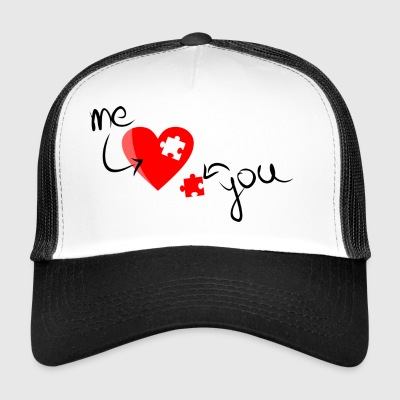 You and me, even love - Trucker Cap