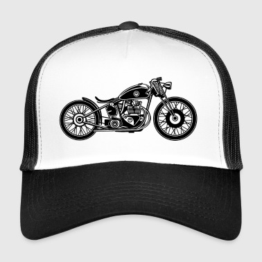 Chopper / Bobber motorcycle 09_black - Trucker Cap