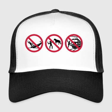 selfies Warnung - Trucker Cap