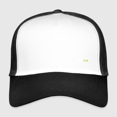 vegan, vegan, vegan power, vegetarier - Trucker Cap