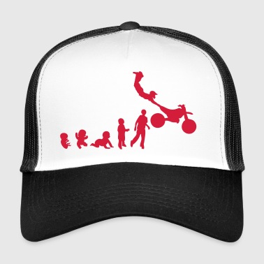 evolution freestyle 5 motocross motrocycle - Trucker Cap