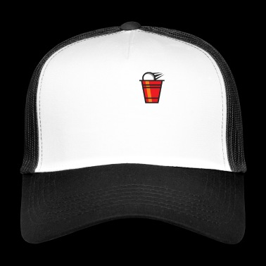 Pong Beer Party Jeu à Boire - Trucker Cap