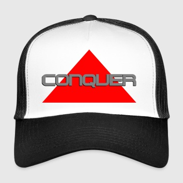 Conquer, by SBDesigns - Trucker Cap