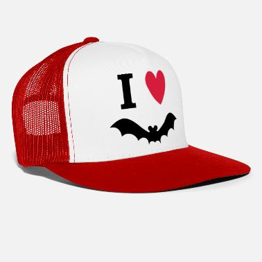 Pygmy Bat I love bats - Trucker Cap