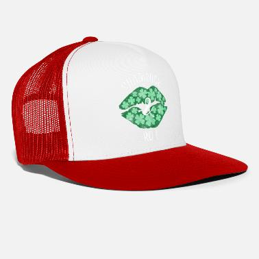Shamrock Womens Shamrock Roll Green Lips - Trucker Cap