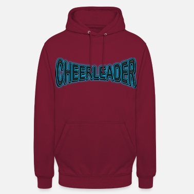 Cheerleader Néon cheerleader - Sweat-shirt à capuche unisexe