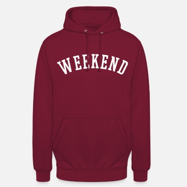 Weekend WEEKEND - Sweat à capuche unisexe