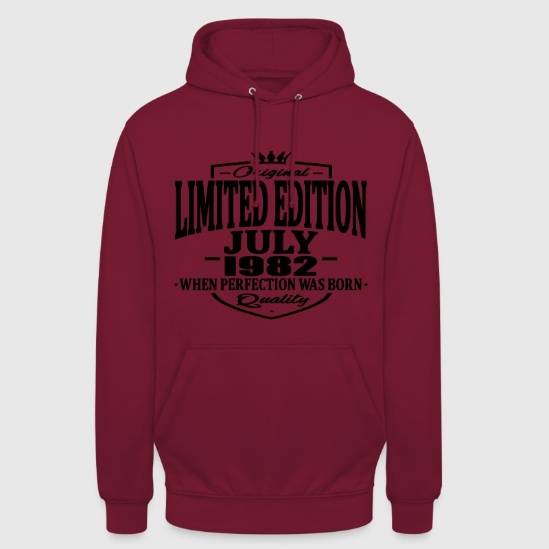 Limited edition july 1982 - Unisex Hoodie