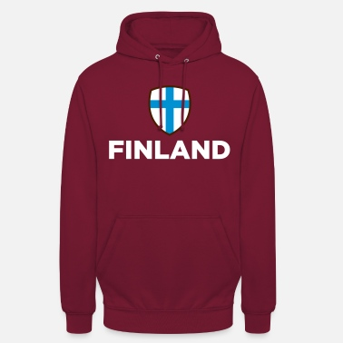 Finland National Flag Of Finland - Unisex Hoodie