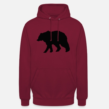 Grizzly Bear (animal) - Sweat-shirt à capuche unisexe