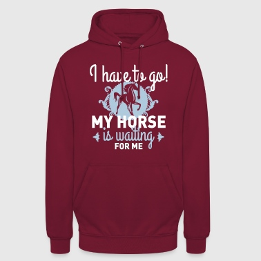 My Horse - Sweat-shirt à capuche unisexe