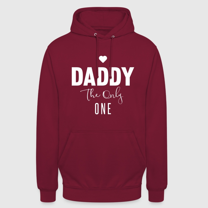 DADDY-THE-ONLY-ONE - Sweat-shirt à capuche unisexe