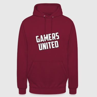 United Gamer United - Sweat-shirt à capuche unisexe