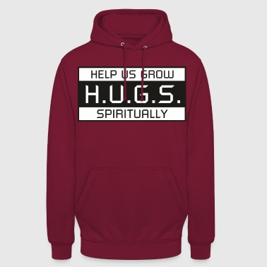 HUGS - Sweat-shirt à capuche unisexe