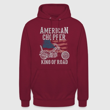 American Chopper - King of Road - Bluza z kapturem typu unisex