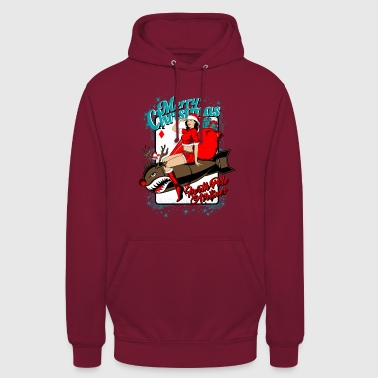 Jul. North Pole Airlines. - Unisex-hettegenser