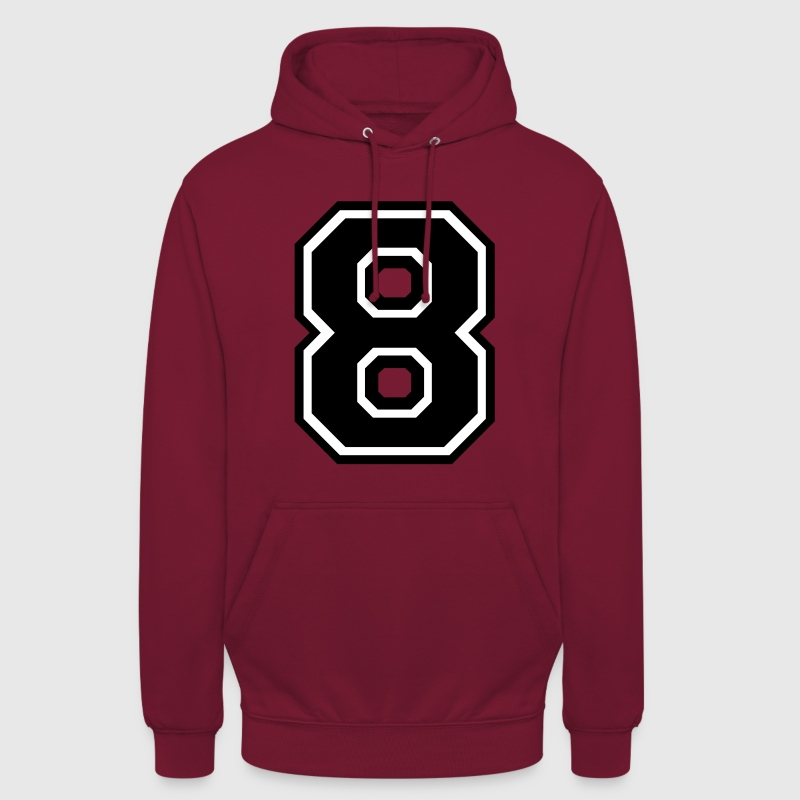 Number 8 Eight - Unisex Hoodie