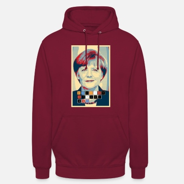 Merkel Angela Merkel in Hope ontwerp we-make-the - Hoodie unisex