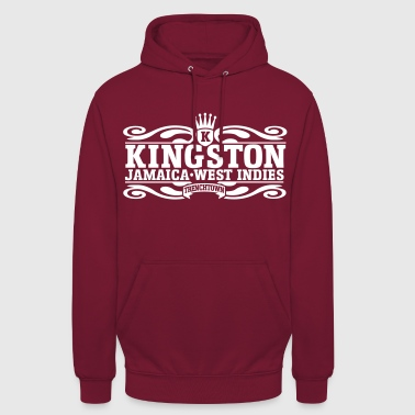 kingston jamaica west indies - Sweat-shirt à capuche unisexe