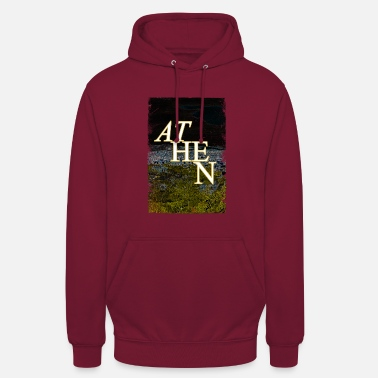 Ancient Greece Athens Ancient Greece Landmark Antique - Unisex Hoodie