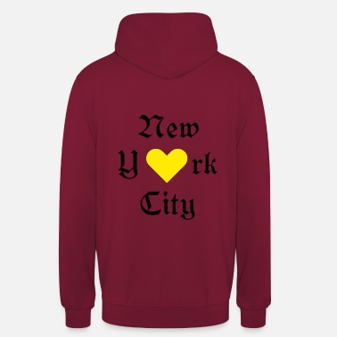 "New York City Ja New York City, New York, York, New York City, - Huppari ""unisex"""