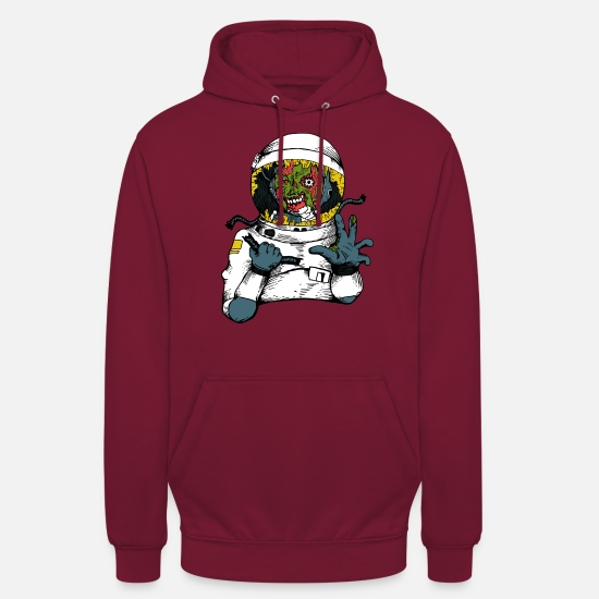 Space Pullover & Hoodies - Space Virus - Unisex Hoodie Bordeaux