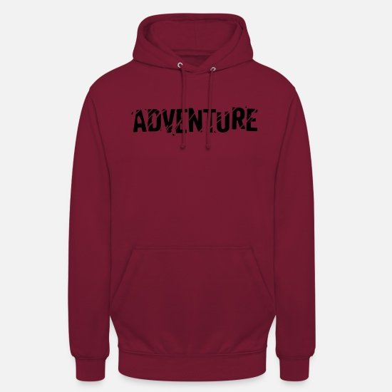 Outdoor Hoodies & Sweatshirts - adventure - Unisex Hoodie bordeaux