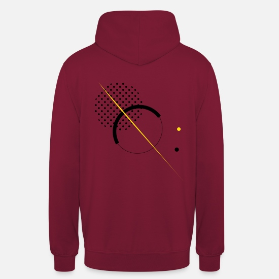 Earth Hoodies & Sweatshirts - Solar system - Unisex Hoodie bordeaux