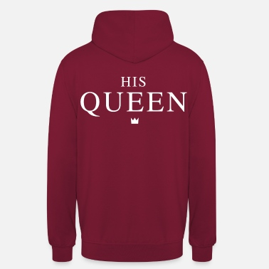 King Queen HIS QUEEN - Unisex Hoodie