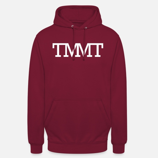Geldgeil Pullover & Hoodies - TMMT The Money Making Team - Unisex Hoodie Bordeaux