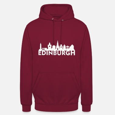 Edinburgh Edinburgh Scotland UK Skyline Gift Idea - Unisex Hoodie