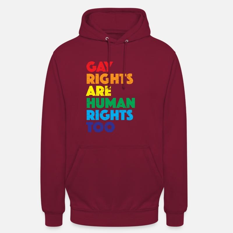Me gustan los chicos-Orgullo Gay Unisex con capucha