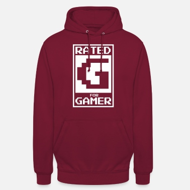 Rated G for gamers - Unisex Hoodie