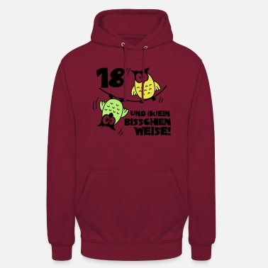 Birthday 18 and still going way Owls - Unisex Hoodie