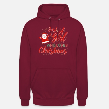 Nikolaustag CHRISTMAS MOTIF WITH CHRISTMAS GIFT GIFT - Unisex Hoodie
