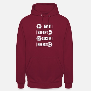 Eat. Sleep. Soccer. Repeat. - Unisex Hoodie