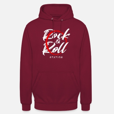 Chant Rock and roll station - Unisex Hoodie